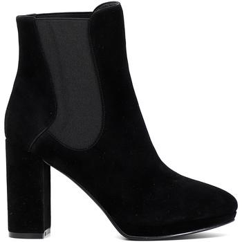 Schuhe Damen Low Boots Café Noir MD541 Schwarz