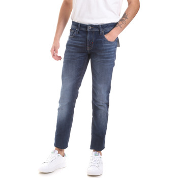 Kleidung Herren Slim Fit Jeans Antony Morato MMDT00241 FA750240 Blau