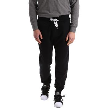 Kleidung Herren Jogginghosen Key Up 2F37I 0001 Schwarz