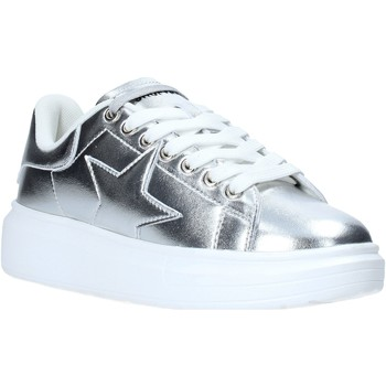 Schuhe Damen Sneaker Shop Art SA030008 Silber