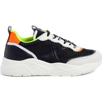 Schuhe Herren Sneaker Low Munich 8770028 Schwarz
