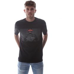 Kleidung Herren T-Shirts Sprayground 21SFW004 Schwarz