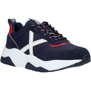 Schuhe Herren Sneaker Low Munich 8770033 Blau