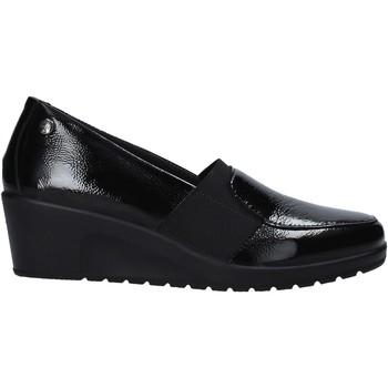 Schuhe Damen Slipper Enval 6273511 Schwarz