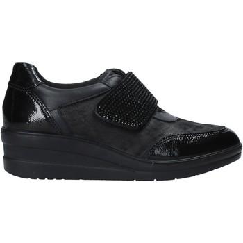 Schuhe Damen Slip on Enval 6278100 Schwarz