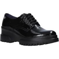 Schuhe Damen Derby-Schuhe CallagHan 27201 Schwarz