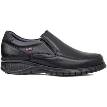 Schuhe Herren Slipper CallagHan 12701 Schwarz