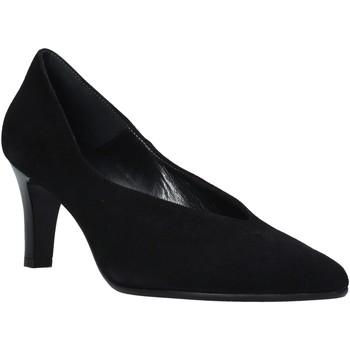 Schuhe Damen Pumps Soffice Sogno I20582 Schwarz