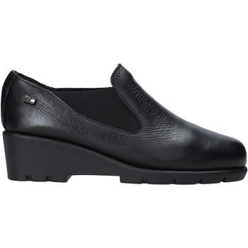 Schuhe Damen Slipper Valleverde 36180 Schwarz
