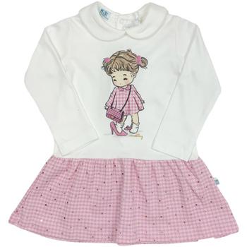Kleidung Mädchen Kurze Kleider Melby 20A0011 Weiß