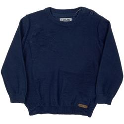 Kleidung Kinder Pullover Losan 027-5653AL Blau