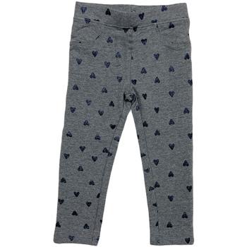 Kleidung Mädchen Leggings Losan 026-6009AL Grau