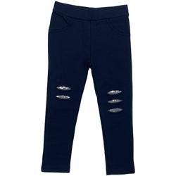 Kleidung Mädchen Leggings Losan 026-6008AL Blau