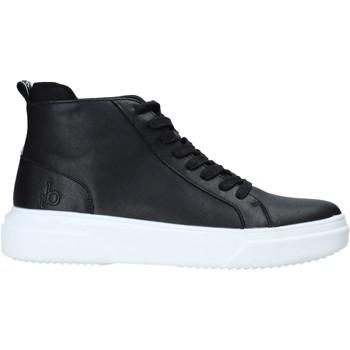 Schuhe Herren Sneaker High Rocco Barocco RB-HOWIE-1401 Schwarz