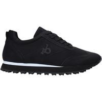 Schuhe Herren Sneaker Low Rocco Barocco RB-HUGO-1701 Schwarz