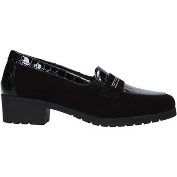 Schuhe Damen Slipper Susimoda 891059 Schwarz