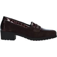 Schuhe Damen Slipper Susimoda 891059 Braun