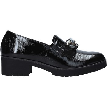 Schuhe Damen Slipper Susimoda 804383 Schwarz