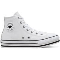 Schuhe Kinder Sneaker High Converse 666392C Weiß