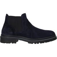Schuhe Herren Boots Valleverde 49840 Blau