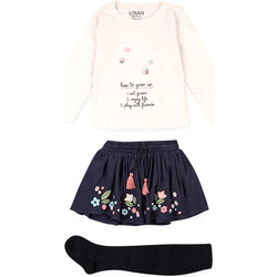 Kleidung Kinder Kleider & Outfits Losan 026-8016AL Beige