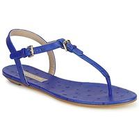 Schuhe Damen Sandalen / Sandaletten Michael Kors FOULARD Blau