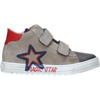 Schuhe Kinder Sneaker High Naturino 2015394 01 Grau