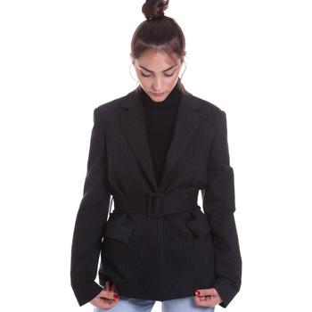 Kleidung Damen Jacken / Blazers Fracomina F120W07022W040D4 Schwarz