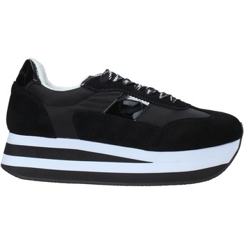 Schuhe Damen Sneaker Café Noir XU920 Schwarz