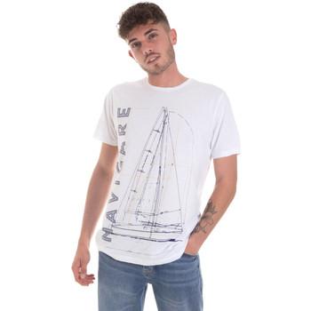 Kleidung Herren T-Shirts Navigare NV31109 Weiß