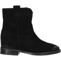 Schuhe Damen Boots Pregunta MAA3307 Schwarz