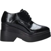 Schuhe Damen Derby-Schuhe Pregunta PAA69-M Schwarz