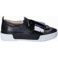 Schuhe Damen Slip on Janet Sport 41707 Schwarz