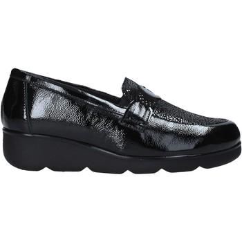 Schuhe Damen Slipper Susimoda 800976 Schwarz