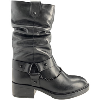 Schuhe Damen Klassische Stiefel Apepazza F0BEATRIX01/LEA Schwarz