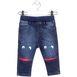 Kleidung Kinder Slim Fit Jeans Losan 027-6010AL Blau