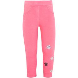 Kleidung Mädchen Leggings Losan 026-6015AL Rosa