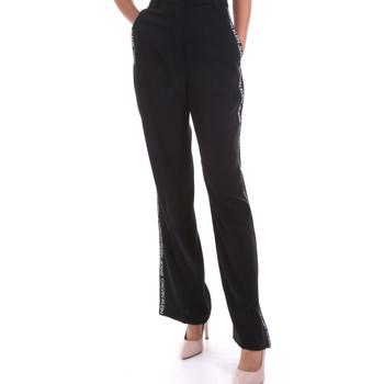 Kleidung Damen Fließende Hosen/ Haremshosen Calvin Klein Jeans J20J214905 Schwarz