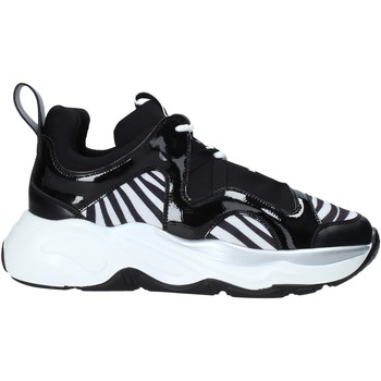 Schuhe Damen Sneaker Low Café Noir XV942 Schwarz