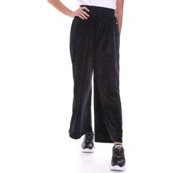Kleidung Damen Fließende Hosen/ Haremshosen Key Up 5CS54 0001 Schwarz