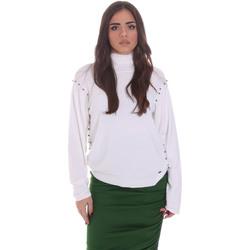 Kleidung Damen Pullover Gaudi 021BD53026 Weiß
