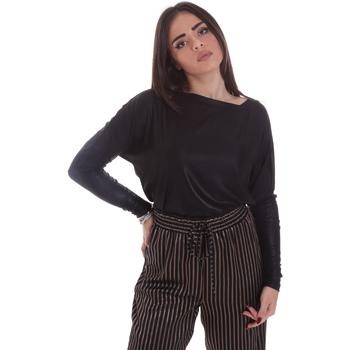 Kleidung Damen Langarmshirts Gaudi 021FD64014 Schwarz