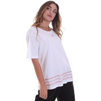 Kleidung Damen T-Shirts Ea7 Emporio Armani 6HTT32 TJ52Z Weiß