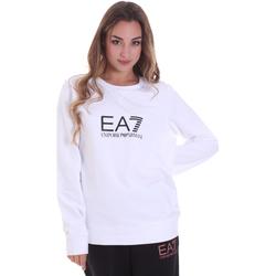 Kleidung Damen Sweatshirts Ea7 Emporio Armani 8NTM39 TJ31Z Weiß