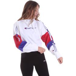 Kleidung Damen Sweatshirts Champion 113338 Weiß