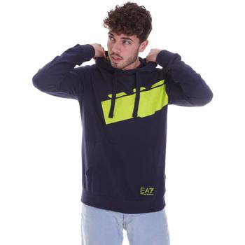 Kleidung Herren Sweatshirts Ea7 Emporio Armani 6HPM78 PJ05Z Blau
