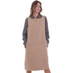 Kleidung Damen Kurze Kleider Calvin Klein Jeans K20K202451 Beige