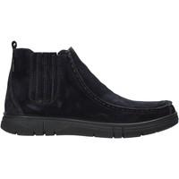 Schuhe Herren Boots Enval 6220911 Blau