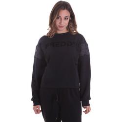 Kleidung Damen Sweatshirts Freddy F0WTBS1 Schwarz