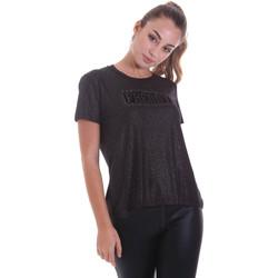 Kleidung Damen T-Shirts Freddy F0WALT2 Schwarz